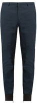 Lanvin Zipped-cuff Cotton Trousers