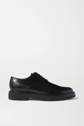 Dries Van Noten Leather Brogues - Black
