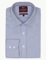 M&S Collection LuxuryMarks and Spencer Pure Cotton Slim Fit Shirt
