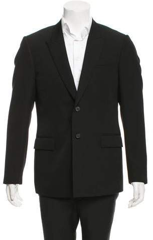 Givenchy Peaked Lapel Wool Blazer w/ Tags