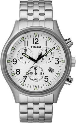 Timex Men's MK SST Chronograph Quartz Bracelet Watch, 42mm