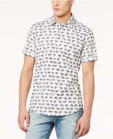 American Rag Men's Walking Elephants-Print Shirt, Created for Macy's