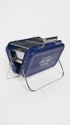East Dane Gifts Gentleman's Hardware Large Portable Barbeque