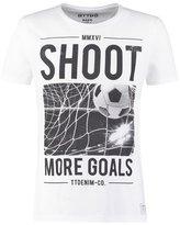 Tom Tailor Denim Print Tshirt White
