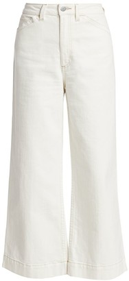 AG Jeans Rosie Workwear High-Rise Wide-Leg Jeans