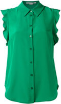 Stella McCartney frill blouse - women - Silk - 40