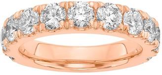 Fire Light Lab Grown Diamond 14K Wedding B and, 2.00 cttw