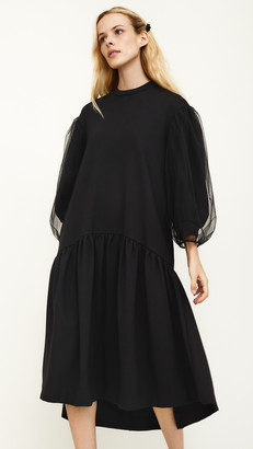 Simone Rocha Puff Sleeve Dress