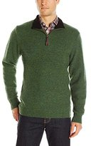 Pendleton Men's Shetland Quarter-Zip Sweater