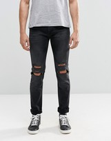 Religion Ripped Noize Jeans