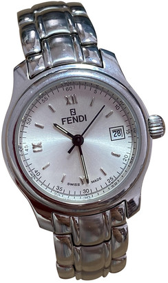 Fendi Silver Steel Watches