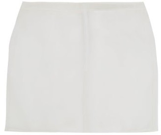 Ludovic de Saint Sernin Silk-organza Mini Skirt - White