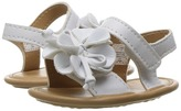 Baby Deer Double Strap Sandal with Flower Girls Shoes