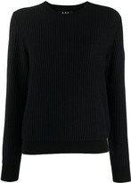 A.P.C. ribbed knit jumper