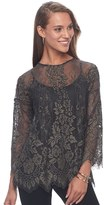 Apt. 9 Women's Floral Lace Top