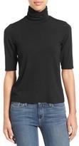 Eileen Fisher Women's Scrunch Neck Jersey Top