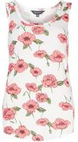 Dorothy Perkins Womens **Tall Red Floral Vest