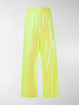 MM6 MAISON MARGIELA Neon Sequinned Track Pants