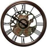 Chaney Radiant Gear Wall Clock