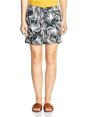 Street One Women's 372260 Short, Multicolour (Chilled Green 218), 8 (Size: )