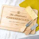Dust and Things Only The Finest Cheese Personalised Family Cheese Board