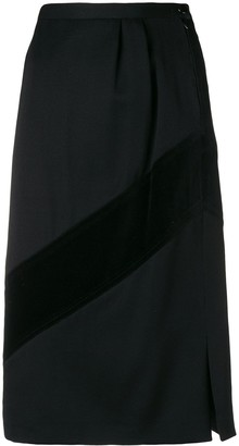 Valentino Pre-Owned 1980's Straight Skirt