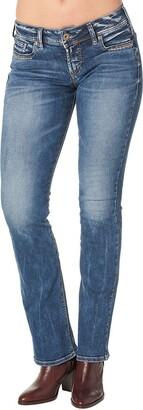 Silver Jeans Co. Silver Jeans Suki Mid Rise Slim Bootcut Jean