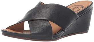Driver Club USA Womens Leather Made in Brazil Beach Wedge Sandal Loafer
