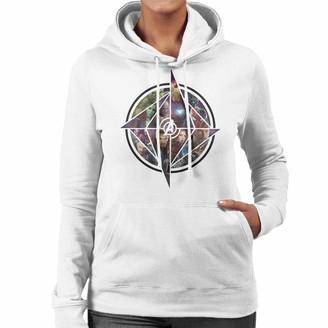 Marvel Avengers Infinity War Character Montage Women's Hooded Sweatshirt Charcoal