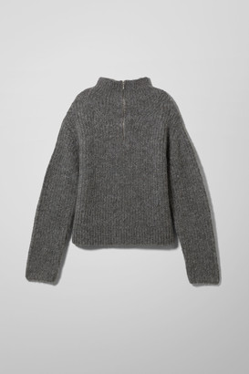 Weekday Delora Sweater - Grey