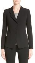 Armani Collezioni Women's Stretch Wool Jacket