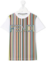Fendi color block T-shirt