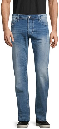 Diesel Faded Straight-Fit Jeans