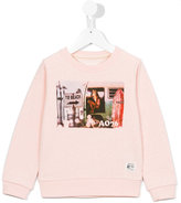 American Outfitters Kids - beach print sweatshirt - kids - Cotton - 4 yrs