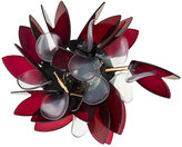 Marni Beaded floral brooch