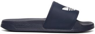 adidas Navy Adilette Lite Pool Slides