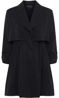 French Connection Carla Lyocell Oversized Short Coat