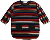 Sonia Rykiel Striped Cotton Chenille Dress