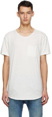 R 13 Off-White Pocket T-Shirt