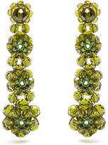Simone Rocha Beaded-floral drop earrings