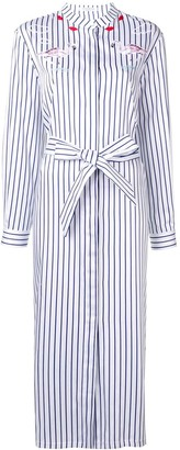 VIVETTA Striped Shirt Dress