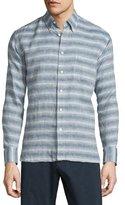 Billy Reid Tuscumbia Striped Sport Shirt, Multi