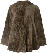 Drome lamb fur jacket