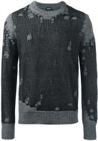 Diesel destroyed effect pullover