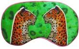 Silk Eye Mask - Staring Leopards