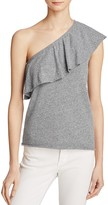 Nation Ltd. One Shoulder Ruffle Top - 100% Exclusive