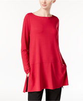 Eileen Fisher Jersey Knit Boat-Neck Tunic, a Macy's Exclusive