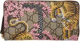 Gucci Multicolor Bengal Zip Wallet