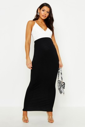 boohoo Maternity Over The Bump Maxi Skirt