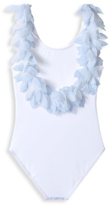 Stella Cove Little Girl's & Girl's One-Piece UPF 50+ Pedal Tank Swimsuit